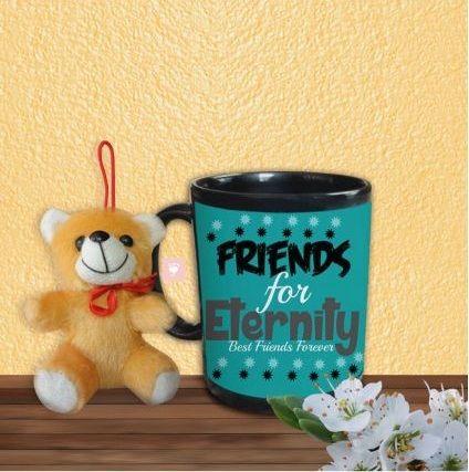 Friendship Mug with small Teddy