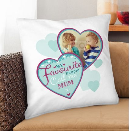 Personalised Cushion - My Favourite People Call Me Mum