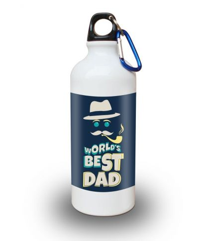 World's Best Dad For Happy Father's Day Sipper Bottle 600 ml
