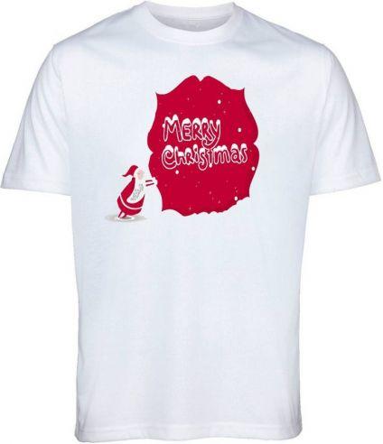 Candid Fashion Graphic Print Men's Round Neck White T-Shirt