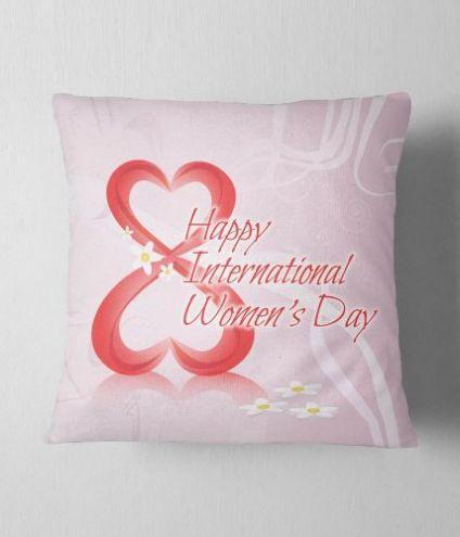 Beautiful cushion for women's day