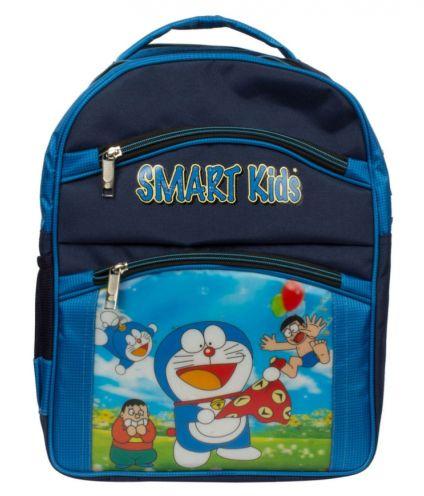 Arip Blue Doraemon Polyester School Bag