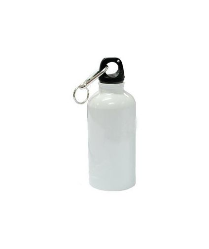 White personalized sipper bottle 600ml