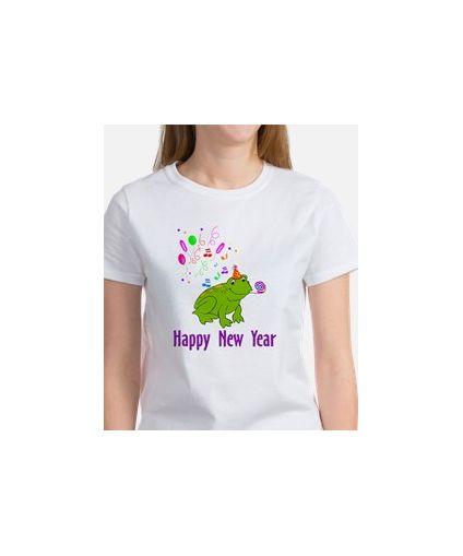 New Years Frog Women's T-Shirt