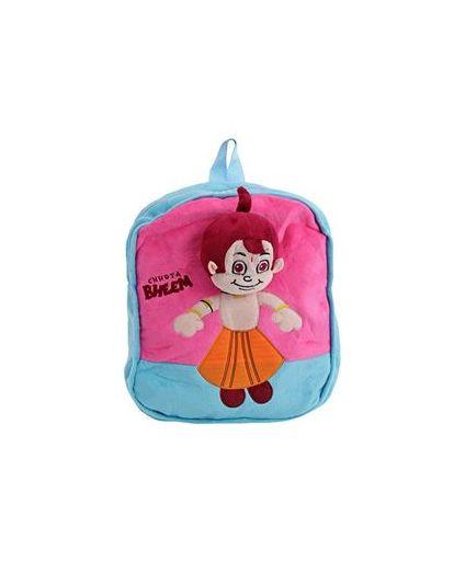 Chhota Bheem Backpack - Blue N Pink