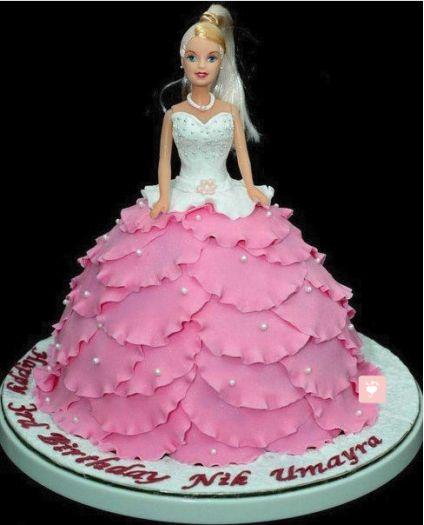Cake Barbie Doll
