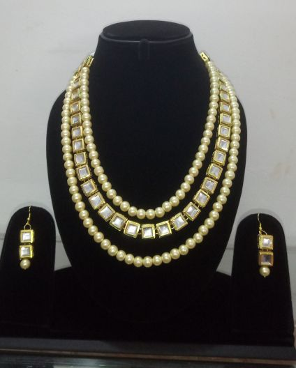 Pearls Jewelry Set