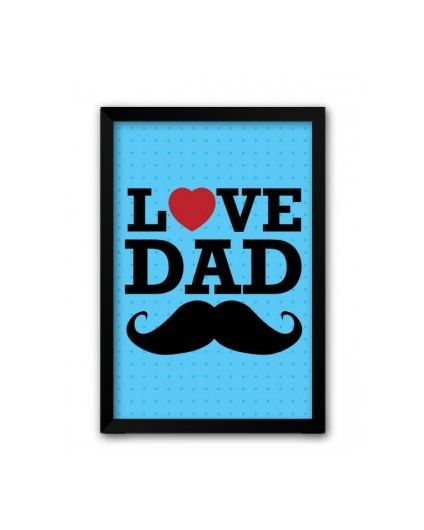 love-dad-mustache-father-day-Photo-frame