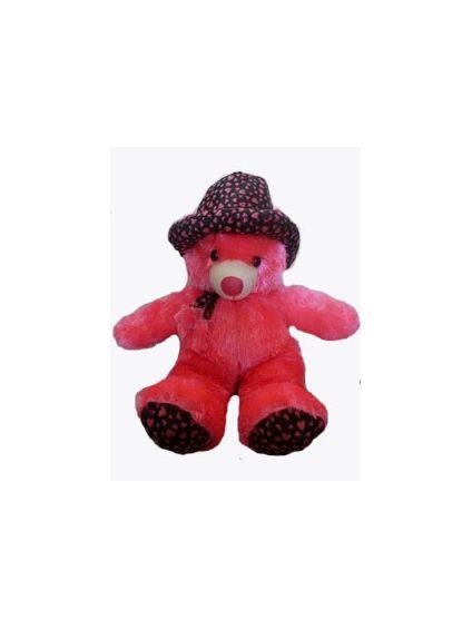 Cute Pink Teddy bear in Cap