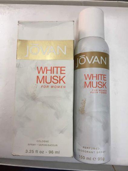 Jovan White Musk Spray
