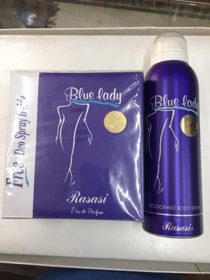 Blue Lady Perfumed Deo