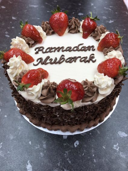 Happy Eid fruit  cake