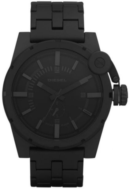 Timewear analog black dial slim watch for men and boys