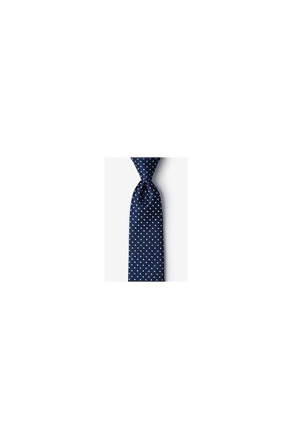 Navy Blue Silk Ties
